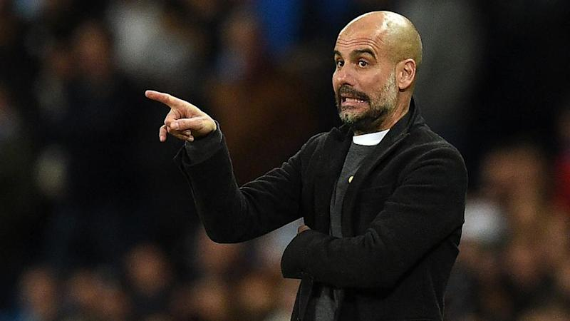 Guardiola had the luxury of resting stars for the Basel clash. Pic: Getty