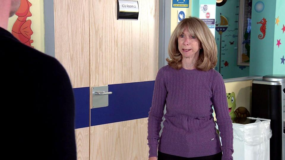 <p>She wants Nick to be honest with Leanne and put an end to Oliver's suffering.</p>