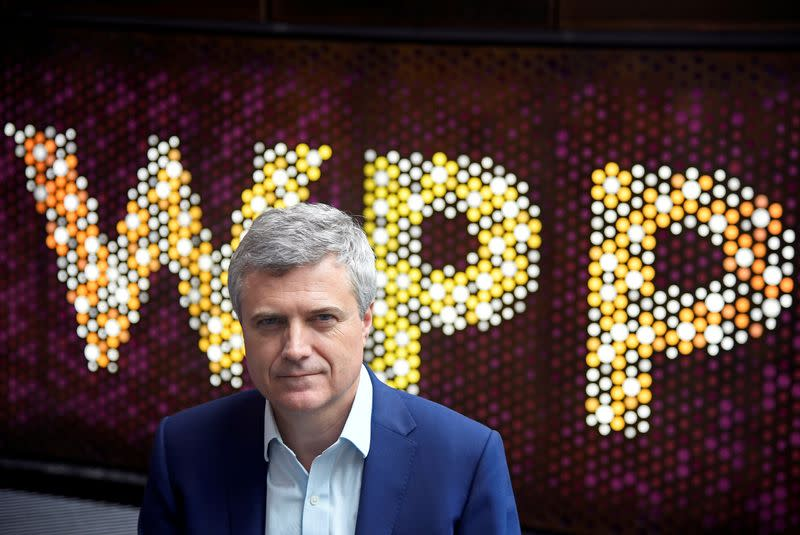 FILE PHOTO: Mark Read, CEO of WPP, the world's biggest advertising and marketing company, poses for a portrait at their offices in London
