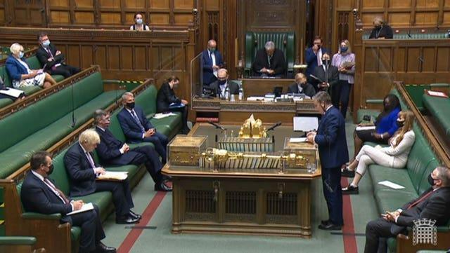 Labour leader Sir Keir Starmer challenged Boris Johnson on the issue at Prime Minister's Questions