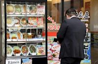 Japan's 'fake food' in the early 20th century when eating out soared in popularity and rural people flocked to the cities