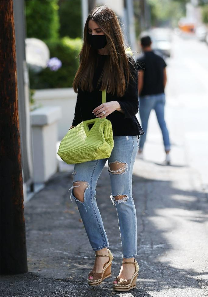 Sofia Vergara out and about in Los Angeles, July 22. - Credit: MEGA