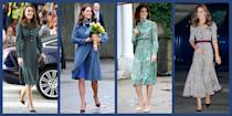 <p>A collection of standout fashion statements from the impeccably-dressed royal.</p>