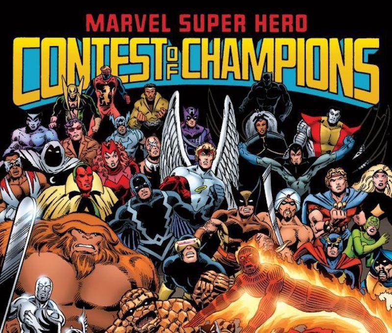 Marvel's <i>Contest of Champions</i> comic. (Image: Marvel Comics)