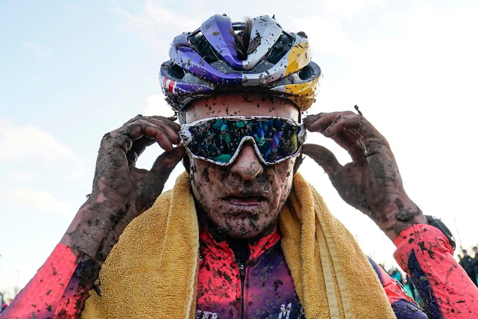 Tom Pidcock After Winning Cyclo-Cross Championships 2020 (Getty Images)