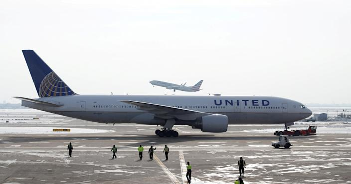 <p>File image: United has grounded 24 aircraft and Boeing has urged other airlines to do the same</p> (Reuters)