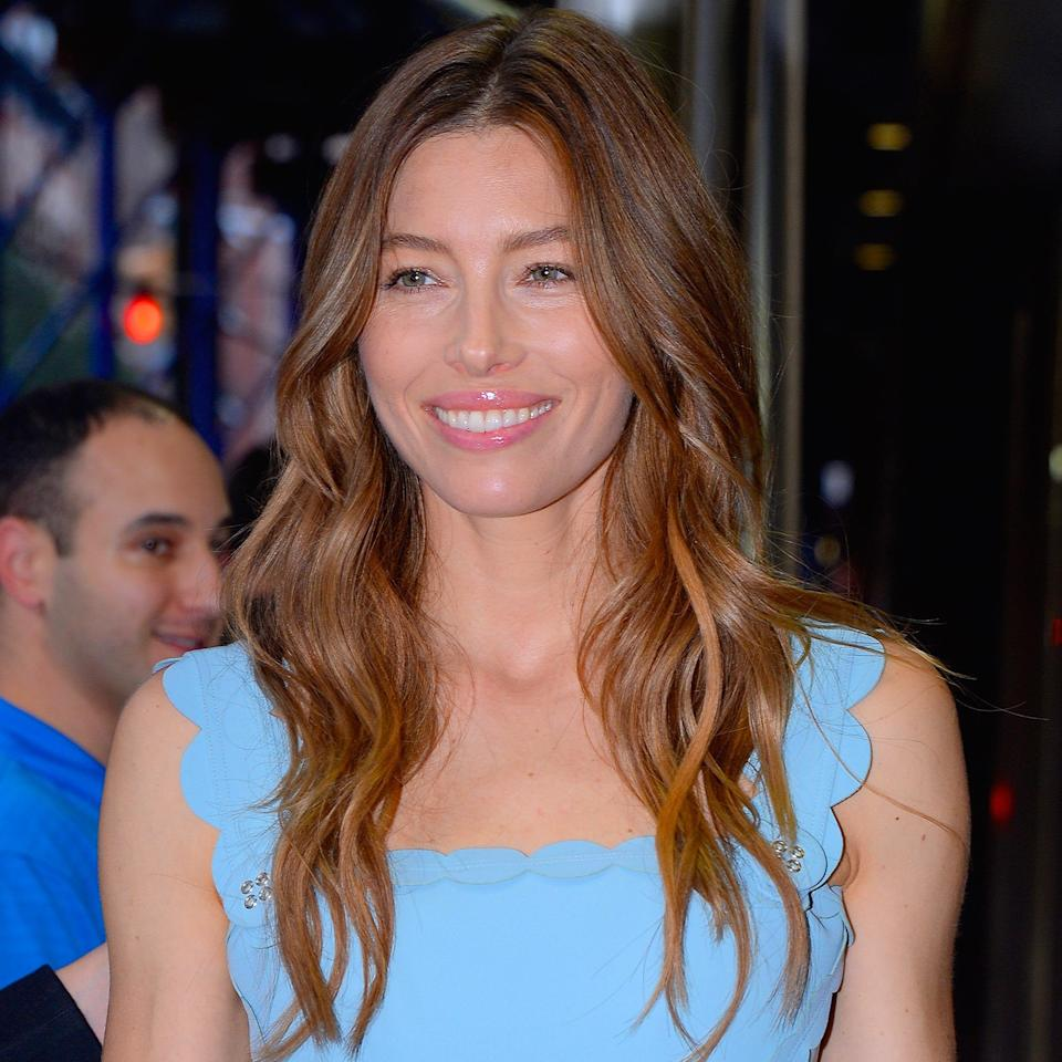 """""""Dirty brunette is a nice change for those who are normally cool or super warm,"""" adds Capri. """"It's a perfect balance of both."""" Actress Jessica Biel keeps her neutral highlights looking natural with laid-back waves. Notice the how the kiss of lighter brown brightens up her complexion."""