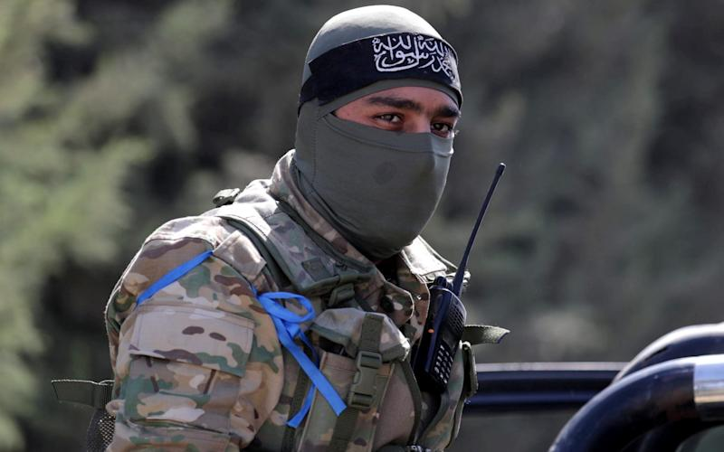 The Turkish-backed rebels appear to share some jihadist ideology - REUTERS