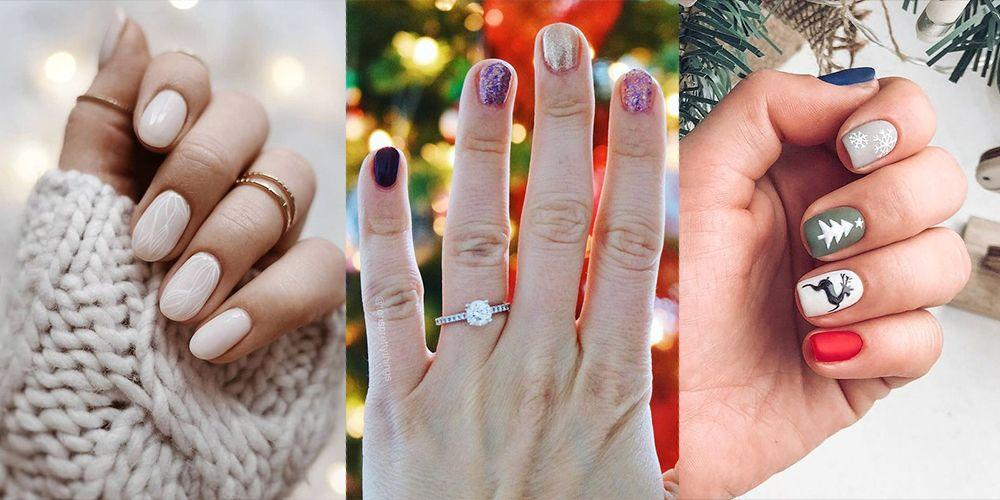 """<p>We are fa-la-la-la-loving how we can mix up our everyday manicure this winter. While we'll never stop loving <a href=""""https://www.goodhousekeeping.com/beauty/nails/tips/g194/christmas-nail-art/"""" target=""""_blank"""">classic Christmas nail art</a>, we're always looking for new, more neutral ways to celebrate the holiday season. That's why we went on a mission to find the winter neutrals, <a href=""""https://www.goodhousekeeping.com/beauty/nails/tips/g1665/glitter-nail-designs/"""" target=""""_blank"""">glitter</a>, and even animal print designs that are perfect to wear from November to February (<em>and</em> even before and after that!). These creative winter nail designs are versatile, on-trend, and bound to be all over your Instagram in the coming months. </p><p>This year, variations of metallics, <a href=""""https://www.goodhousekeeping.com/beauty/nails/g29831822/best-red-nail-polish-colors/"""" target=""""_blank"""">reds</a>, and <a href=""""https://www.goodhousekeeping.com/beauty/nails/tips/g1627/nude-manicure-nail-art-upgrades/"""" target=""""_blank"""">nudes</a> will reign. From barely-there beiges to chrome accents, you can try any of these options for your next mani. Thanks to bloggers, professional nail artists, and nail salons, <a href=""""https://www.goodhousekeeping.com/beauty/nails/g29008877/best-winter-nail-colors/"""" target=""""_blank"""">we know all of the trends for the winter season</a>. Complete with designs that you can easily copy in the <a href=""""https://www.goodhousekeeping.com/beauty/nails/a28170147/how-to-do-a-pedicure-tips/"""" target=""""_blank"""">comfort of your home</a>, these examples should inspire you to design fun and affordable looks everyone will love. Your holiday outfit game will only get better with a little extra sparkle or a modern twist on the classic <a href=""""https://www.goodhousekeeping.com/beauty/nails/g1267/french-manicure-ideas/"""" target=""""_blank"""">French manicure</a>. Take a look at our favorite selections below! </p>"""