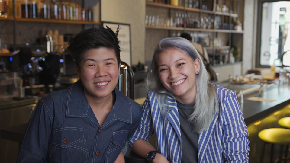 Women On Top: (Lto R) Juan Yi Jun and Jessica Hutch, founders of No Sleep Club. (PHOTO: Yahoo Lifestyle Singapore)