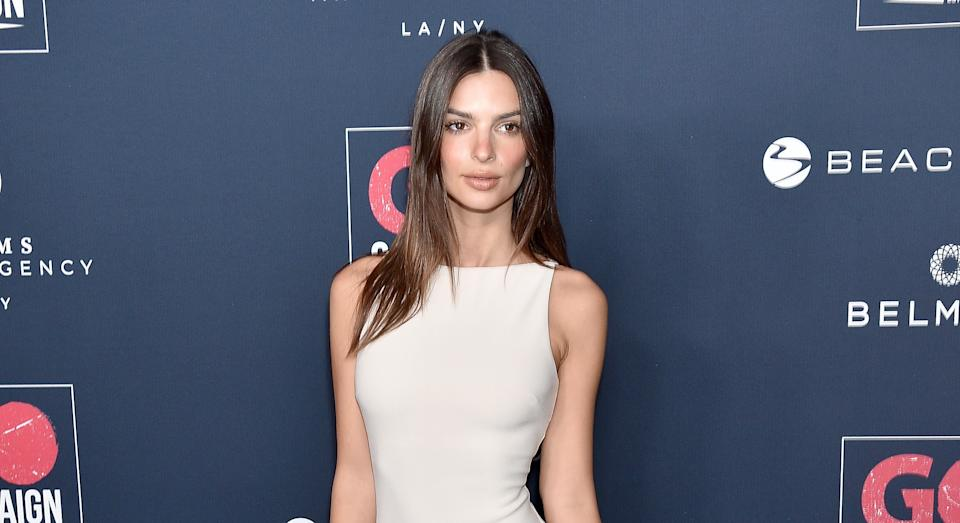 """Emily Ratajkowski has shared the picture she shows people to prove her body is """"natural"""" [Image: Getty]"""
