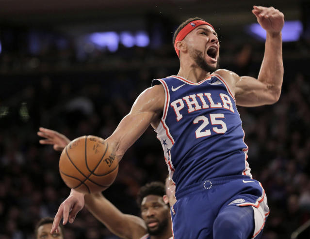Yes, Ben Simmons can't shoot, but he deserves to be an All-Star. (AP)
