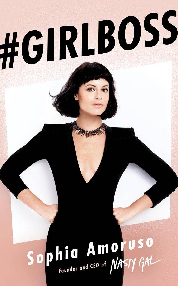 The cover of Sophia Amoruso's best-selling memoir #GIRLBOSS