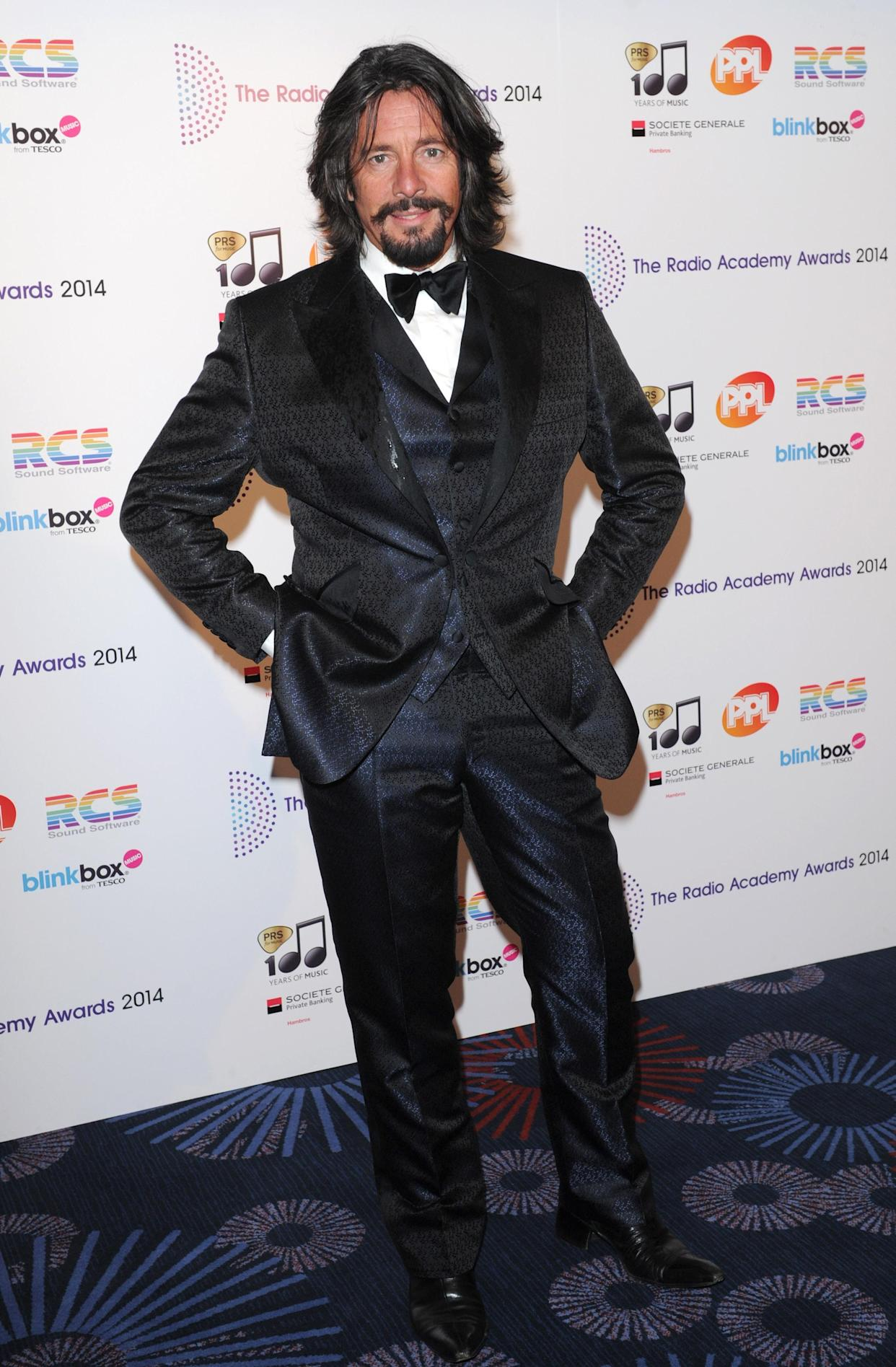 The Radio Academy Awards, Grosvenor House Hotel, London, Britain - 12 May 2014, Laurence Llewelyn-Bowen (Photo by Brian Rasic/Getty Images)