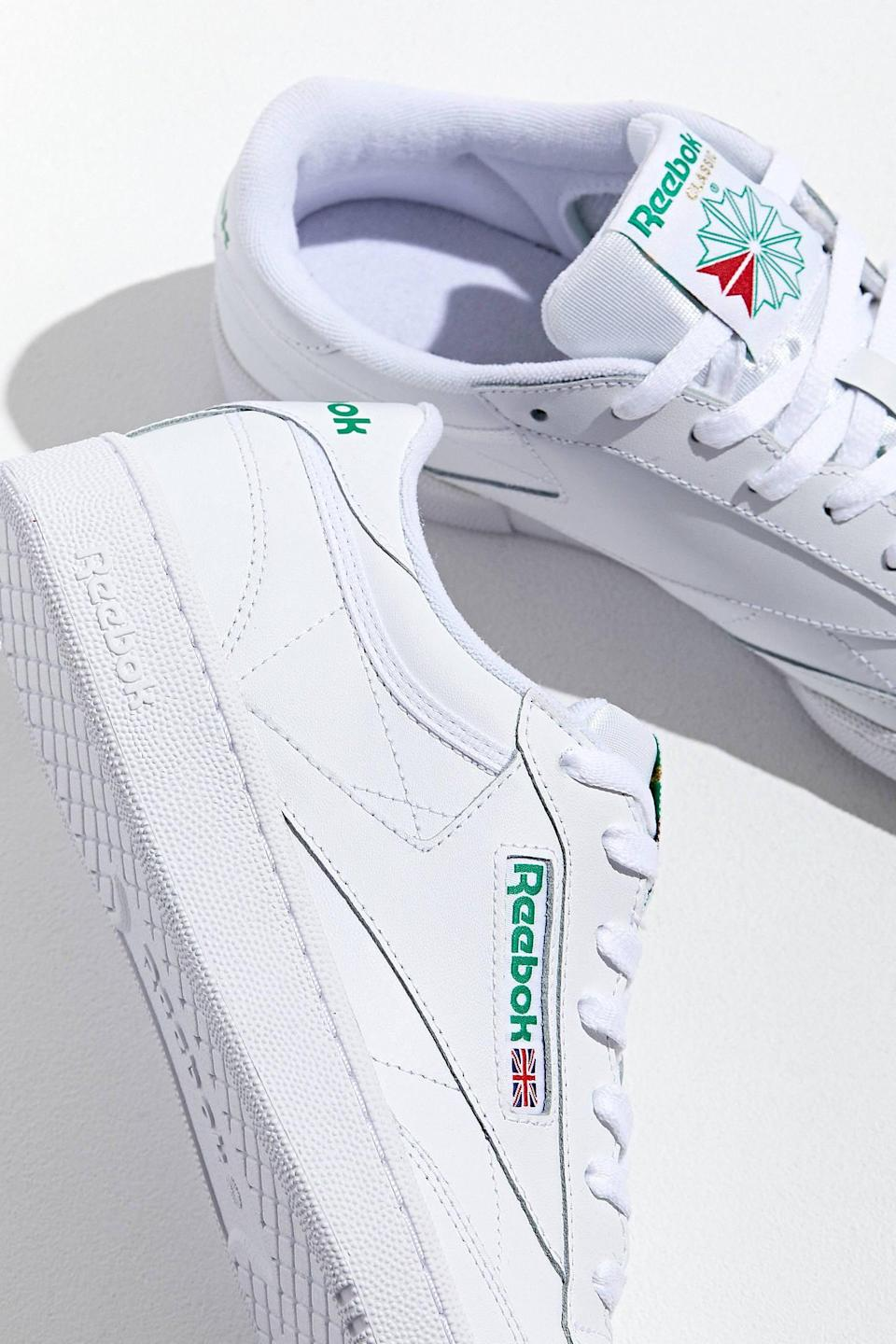 "<p><span>Reebok Club C 85 Sneakers</span> ($70)</p> <p>""If like me, you can't stop buying white sneakers, may I suggest you add these Reebok vintage ones to your collection? They are so comfortable and versatile."" - Alessandra Foresto, deputy editor</p>"