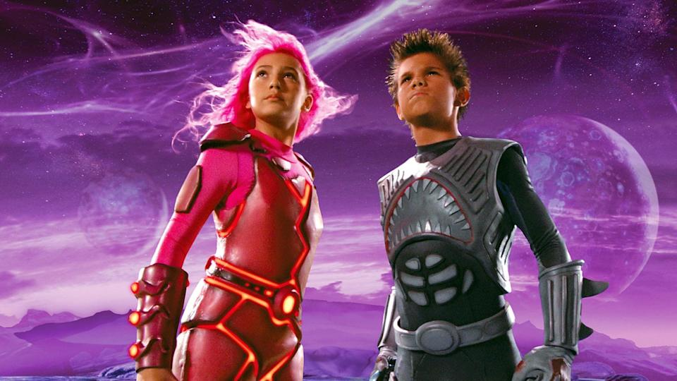 """<p><strong>Netflix's Description:</strong> """"A 10-year-old dreamer's imaginary friends - mighty Sharkboy and fire-producing Lavagirl - come to life to seek his help battling a nefarious baddie.""""</p> <p><a href=""""https://www.netflix.com/title/70021640"""" class=""""link rapid-noclick-resp"""" rel=""""nofollow noopener"""" target=""""_blank"""" data-ylk=""""slk:Stream Sharkboy and Lavagirl on Netflix!"""">Stream <strong>Sharkboy and Lavagirl</strong> on Netflix!</a></p>"""