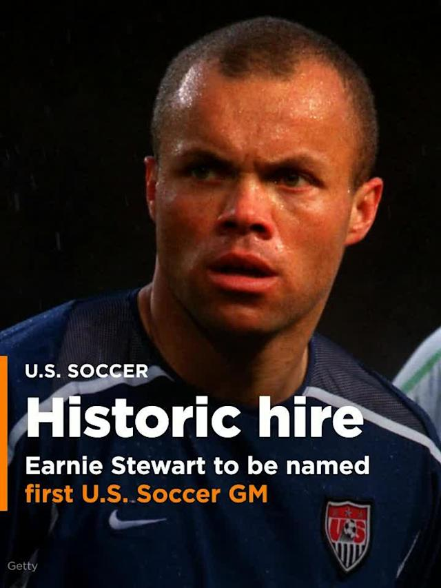 Earnie Stewart is in negotiations to become the first general manager of the U.S. men's national team, a source close to the discussions confirmed to Yahoo Sports.