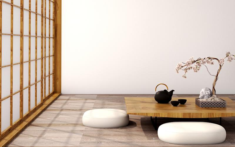 """It's perhaps no coincidence that the word kirei in Japanese means both """"clean"""" and """"beautiful"""" - GETTY"""