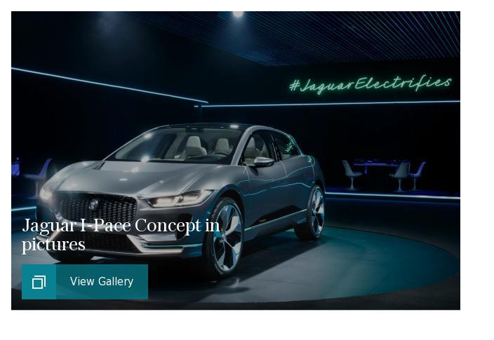 Jaguar I-Pace in pictures puff