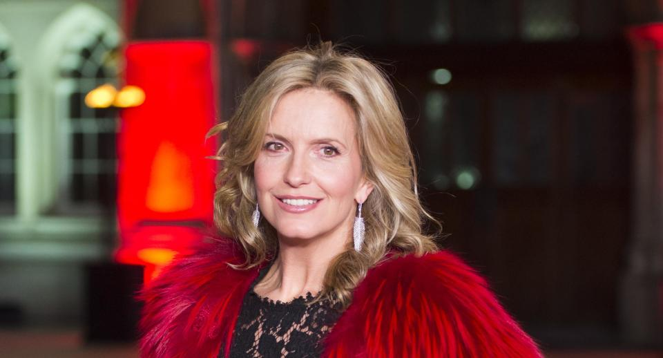 Penny Lancaster has said she shared a 'special' moment with the widow of PC Andrew Harper. (Photo by Samir Hussein/Samir Hussein/WireImage)
