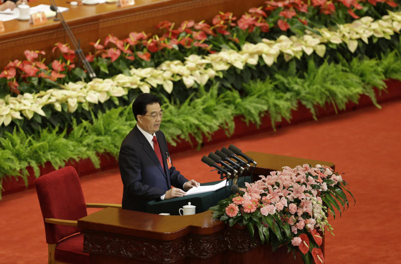 China's Hu urges firm party control, curb on graft