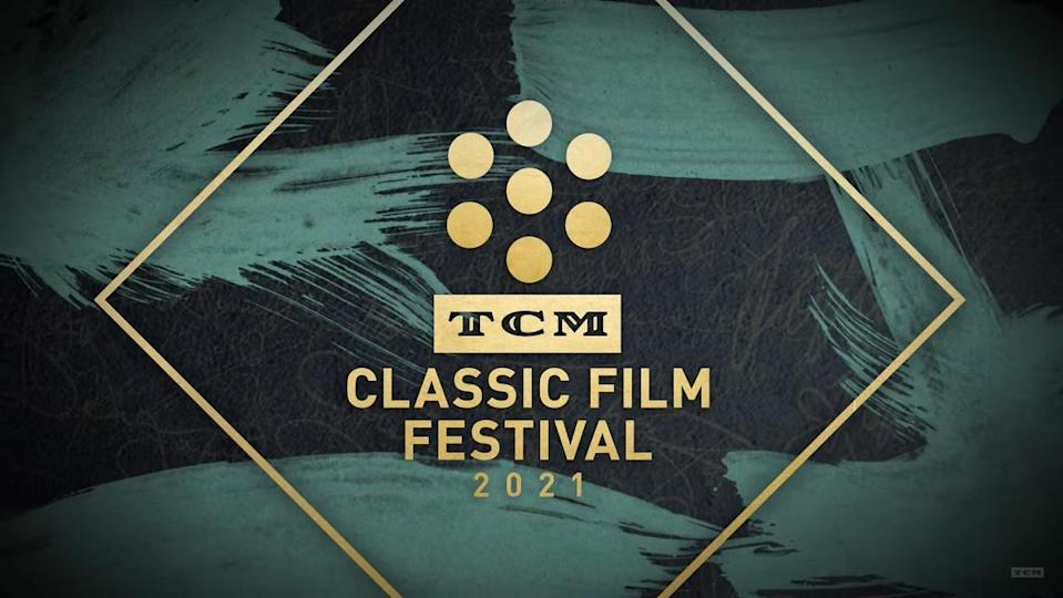 The logo for the TCM Classic Film Festival Home Edition 2021.