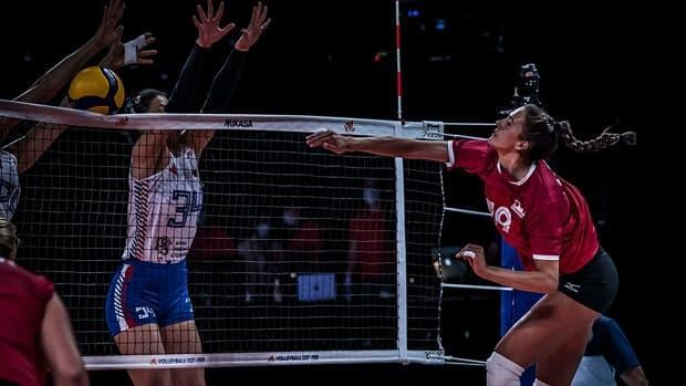 Canada beat Serbia 3-1 in sets Saturday to halt a three-game losing skid in Volleyball Nations League.