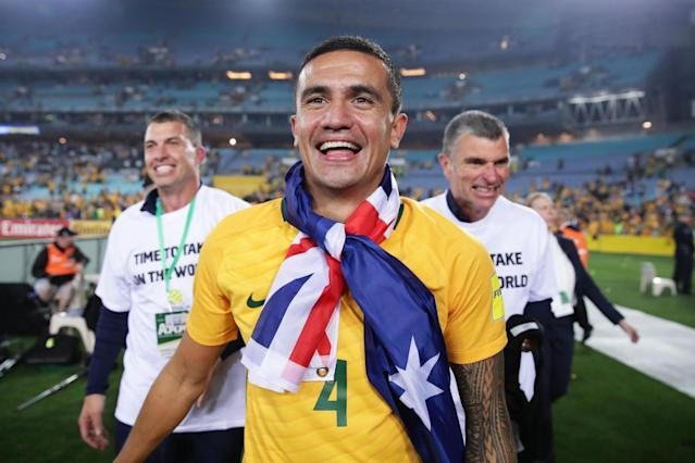 Australia fans demand Tim Cahill is given chance to match World Cup icons at Russia 2018