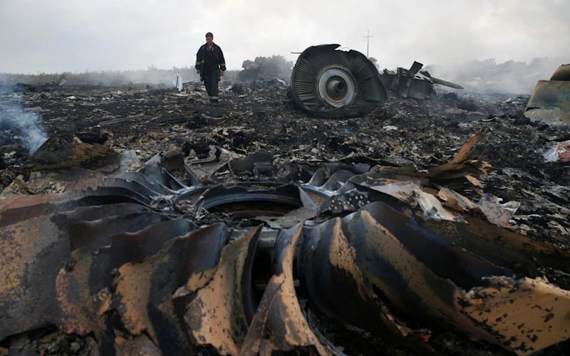 MH17 was shot down over eastern Ukraine in in July 2014