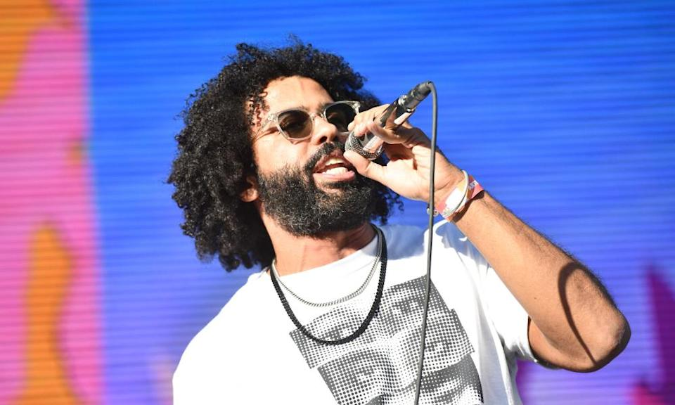 Daveed Diggs of the band Clipping performs onstage