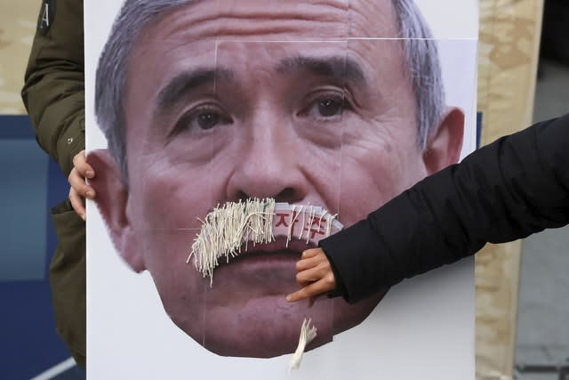 South Korea US Envoy Mustache