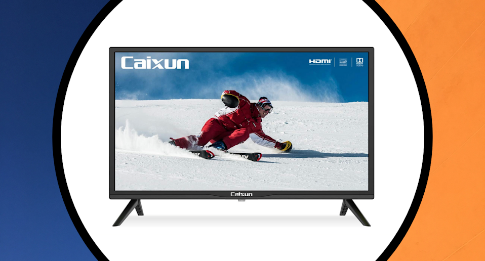 This 24-inch LED TV is perfect for dorm rooms, bedrooms, and small spaces — and it's less than $170 (Photo via Amazon)