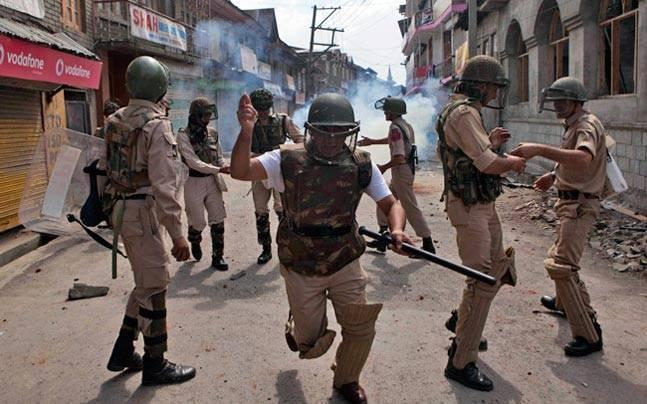 Battling insurgents and stone pelters, CRPF to begin using its 'third eye' in Kashmir operations