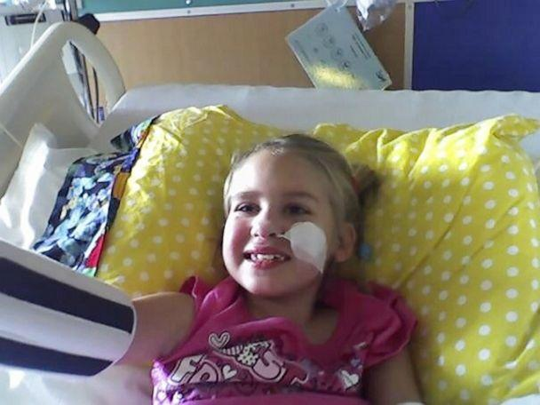 PHOTO: Maegan Johnson dances to Toxic by Britney Spears in 2008 after her first brain surgery. (Courtesy Maegan Johnson)