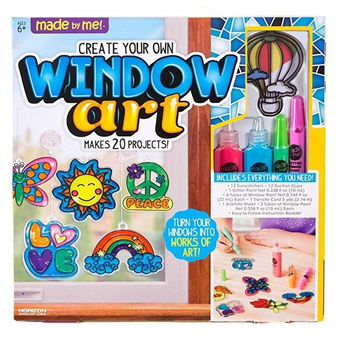 <p>The <span>Made By Me Create Your Own Window Art</span> ($9, originally $19) is the perfect activity that will keep kids entertained for hours. If it's raining or an early morning, they'll love playing with this.</p>