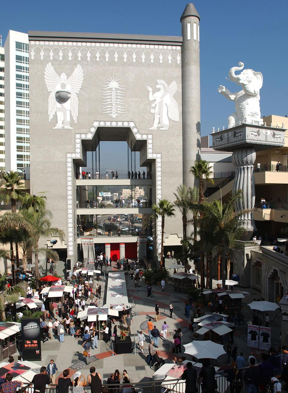 The Hollywood and Highland Center. (Photo: Getty Images)
