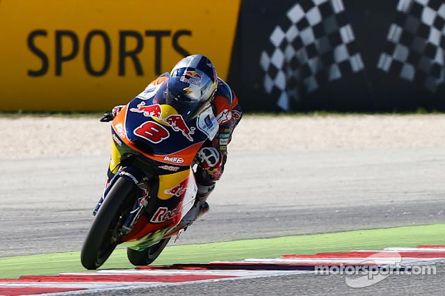 """#8 Jack Miller (Moto3) - 2014 <span class=""""copyright"""">Red Bull GmbH and GEPA pictures GmbH</span>"""