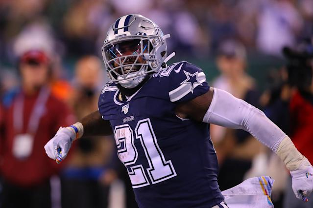 It's a rough matchup for Zeke in Week 7, but the price is right. (Photo by Rich Graessle/Icon Sportswire via Getty Images)