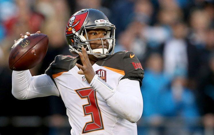 Jameis Winston highlights this week's look at recent fantasy risers and fallers (Photo by Streeter Lecka/Getty Images)