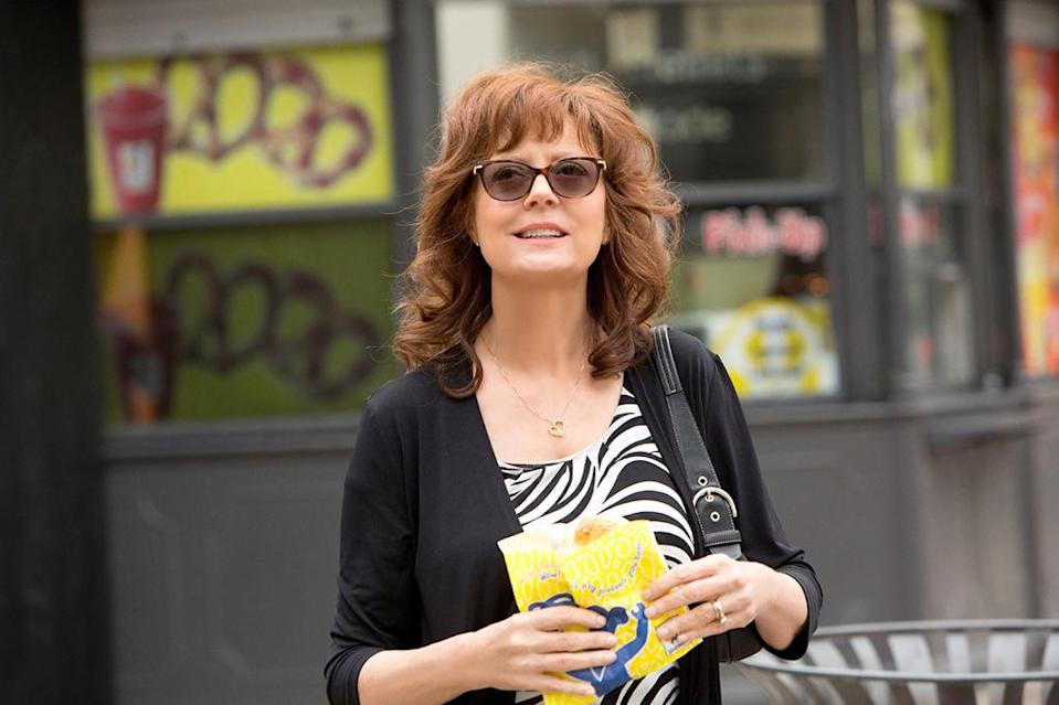 <p>Paired with the always-amusing Rose Byrne, Sarandon is a pesky mom who can't stay out of her screenwriting daughter's (or anyone else's) business in one of her most fully realized and accomplished performances in years. (Photo: Sony Pictures Classics) </p>
