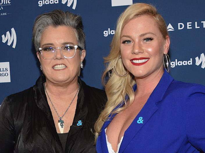 rosie o'donnell elizabeth rooney may 2019