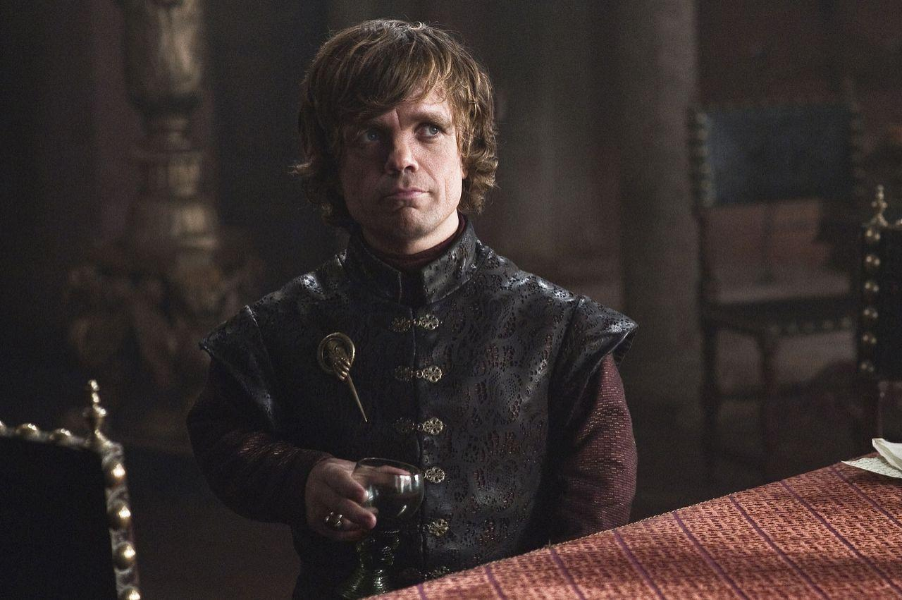 """<p>There may be no drunk on television who is more fun than Tyrion Lannister. Part of it may be because so many awful things happen around and to him, but mostly he's just hilarious. There is no question that a show that was only about Tyrion and Bronn getting drunk in a brothel would set new rating records for HBO. <br />Best Line: """"I am the god of tits and wine!"""" <br /><br />(Photo: HBO) </p>"""