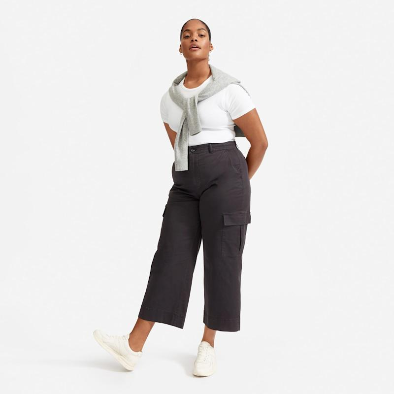 The Wide Leg Crop Cargo Pant