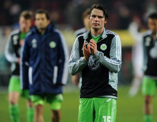 Wolfsburg fans booed and jeered Christian Traesch after a recent defeat