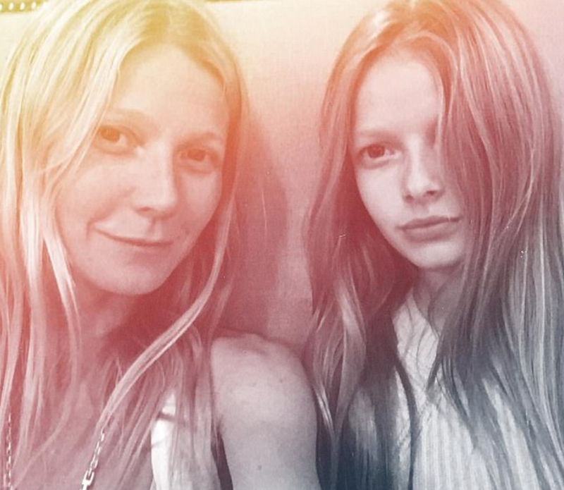 We don't see much of Gwyneth's kids as she's kept them out of the spotlight in the past, pictured here together in 2016. Source: Instagram