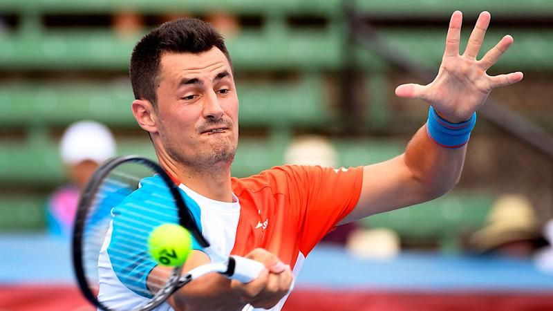 New balls please: Bernard Tomic hits out at 'cheap' Australian Open balls
