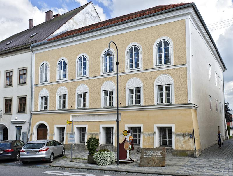 The Austrian interior ministry has rented the house where Adolf Hitler was born in Branau, since 1972