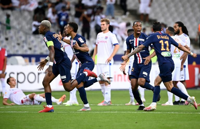 Paris Saint-Germain beat Lyon on penalties in Friday's French League Cup final. They play Atalanta in the Champions League quarter-finals on August 12