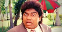 Considered to be the one of the first stand up comedians in Indian cinema, Johnny Lever was born Johnny Prakash rao Janumala to a Telugu Christian family and brought up in Mumbai's Dharavi. He dropped out of school and started working odd jobs selling pens and dancing on the streets, to earn some money. Once, at a function at Hindustan lever, where his father worked as an operator, Johnny mimicked senior officials to the amusement of the staff, who named him Johnny Lever, a name that he decided to keep even after he entered movies. Lever started his film career with the 1986 film, Love 86 and went on to entertain audience in films such as Baazigar, Judaai, Khiladi, Dulhe Raja and Kuch Kuch Hota Hai. He most recently appeared in Housefull 4 where he shared screen space with his daughter, Jamie Lever, also a stand up comedian.