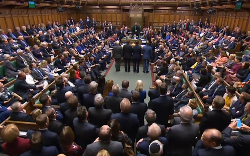 MPs approve in principle the Brexit Withdrawal Agreement Bill: AFP